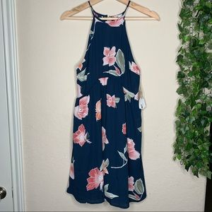 Sadie and Sage floral boutique Dress | size small